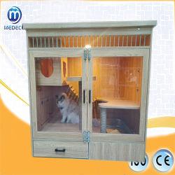 Instrumento de animais domésticos de companhia gaiola de madeira Gaiola Cat