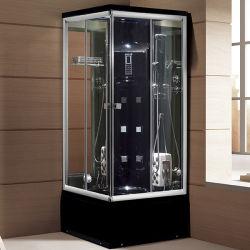 Woma acrylique couleur noir complet salle de douche avec baignoire (Y844)