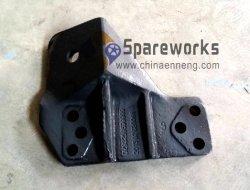 Dz93259591032 soporte frontal del motor L para Sinotruk camiones Shacaman piezas de repuesto piezas de Shanxi