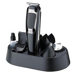 العناية الشخصية أداة تشذيب الشعر اللاسلكية تشذيب الشعر الكهربائي مع آلة حلاقة وشافير الأنف