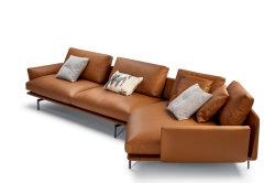 2021 Set divano soggiorno a L di design moderno Con Chaise Lounge