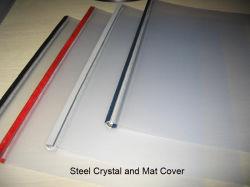Pvc 0.2mm van Transpare van de Dekking van het Kristal van het staal