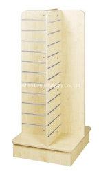 European Style 4 way MDF Slatwall Gondel Cabinet Display für Supermarkt, Geschäfte, Geschäft, Garage mit Aluminium-Einsatz