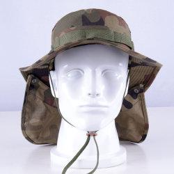Bordo largo su ordinazione del camuffamento di estate dell'uomo esterno del cappello funzionale di Sun