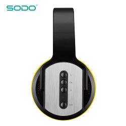 Fone de Ouvido Flip Sodo Colunas Bluetooth Mh2, com TF/FM/AUX/SNF