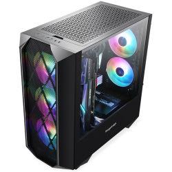도쿄 올림픽 - OEM - 맞춤형 - RGB 게임 케이스 - 공기 CPU 쿨러 지원 - 팬 3개 USB 3.0 - HDD/SSD - 수냉식 냉각 데스크탑 ATX PC 컴퓨터 케이스