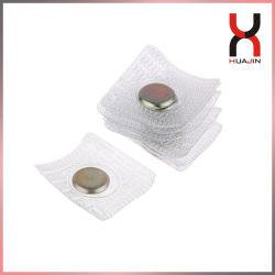 Botões magnéticos oculto de PVC lavável D12*2mm