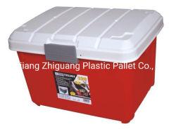 직사각형 쌓을수 있는 플라스틱 저장 운반물 상자, 차 공구 콘테이너
