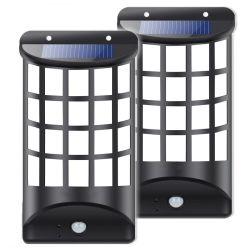 装飾的な動きセンサーの塀の壁ライト屋外の太陽庭の照明