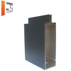 6063 T5 Aluminium extrudé Profil de mur rideau en verre Matériau de construction en aluminium