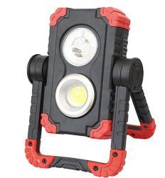 LED-Flutlicht-nachladbare bewegliche wasserdichte Scheinwerfer für die im Freien kampierende wandernde Emergency Auto-Reparatur und Job-Site-Beleuchtung