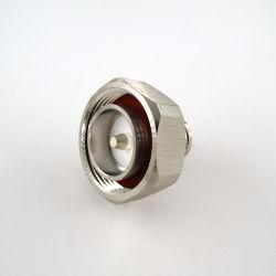 """Coaxial RF 7/16 DIN Soldadura Macho Conector de 1/2"""" Sf Cable D"""