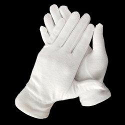Военное положение диапазона масонские белый дорожной полиции Армии ВМС хлопок перчатки