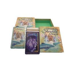 80pcards جانب مزدوج مع Guidebook High Quality Nethermaland الشعبية السحر بطاقات تاروت مع صندوق الغطاء السفلي