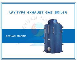Marine Gas-Tube Vertical da caldeira a gás de escape
