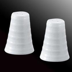 Küche-Keramik-Gewürz-Glas-Flasche für Salz-und Pfeffer-Schüttel-Apparatset