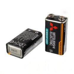6F22 9V Super Bateria de alto desempenho 1pedaço encolher Pack 3