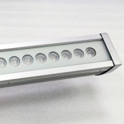 DMX RGB beleuchtet im Freiengebäude-Fassade-Beleuchtung 24W LED Wand-Unterlegscheibe