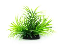 Горячие продажи продуктов безвредные пластмассовых материалов аквариум орнаменты Искусственные растения оформление