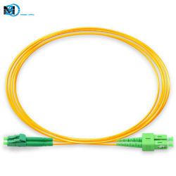 كابل الاتصالات بالمصنع الصينى LC/APC-Sc/APC SM DX تصحيح الألياف الضوئية سلك لوصلة FTH