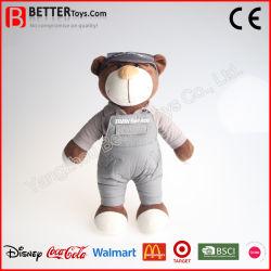직접 공장 새로운 디자인 연약한 귀여운 견면 벨벳에 의하여 채워지는 4s 상점 이동성 복장 장난감 곰 장난감