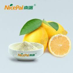 Natürliches gelbes Zitronensaft-Puder