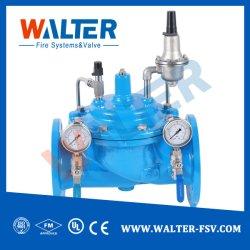 Águas residuais industriais e tratamento de esgotos da Válvula Redutora de Pressão