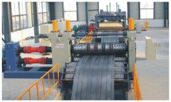 De metal/acero alimentación Servo Shearer máquina Línea de producción con nivelador Staightener Uncoiler