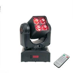 Mini 4X10W 4в1 индикатор зума перемещение головки DJ фонарь