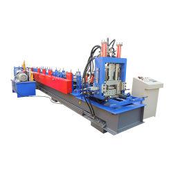 Volledig automatisch C Z u-profiel van stalen profiel Stalen purlin Tile Sheet Roof Roll Forming machine Machinery maken