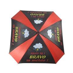 골프 클럽 핸들이 있는 중국 비정규 스퀘어 골프 우산 제조