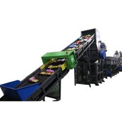 Full automatic Desperdícios de PP PE máquina de reciclagem de plástico