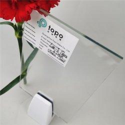 3.2mm 4mm 5mm 6mm 8mm 10mm 12mm 열 사려깊은 높은 투과율 낮은 방사율 유리 (LE-TP)