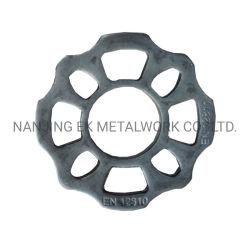 Collare rotondo d'acciaio della base dell'anello dell'armatura dei materiali del sistema di Ringlock dell'impalcatura