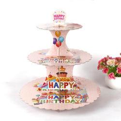 Hochzeitspapier Kuchen Stand Party Cupcakes Cake Stand Passend Zu Künstlicher Blume