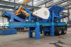 Mobile Zerkleinerungsmaschine/beweglicher zerquetschenpflanzen-/Rad-Typ Portable-Zerkleinerungsmaschine
