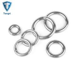 Anel de aço inoxidável 316L 3mm círculo sólido de metal redonda do anel O anel redondo soldado