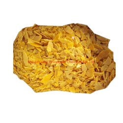 Qualité supérieure rouge/jaune de flocons de sulfure de sodium Le sulfure de sodium