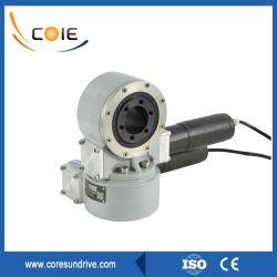 Motor eléctrico de doble eje de la unidad de rotación de cojinete de giro