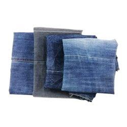 30kg 100 Resíduos têxteis de algodão macio de limpeza ensopados de denim