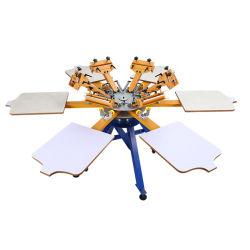 Руководство по ремонту 6 цвета 6 станции текстильной карусели шелк экране принтера печатной машины