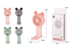 El verano de carácter personal de mano de juguete Mini portátil ventilador ventilador de dibujos animados preciosa H9670023