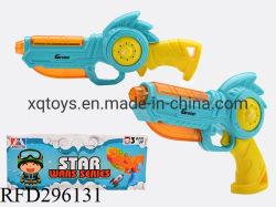 Venta caliente chicos plástico con luz y sonido B/O juguetes pistola