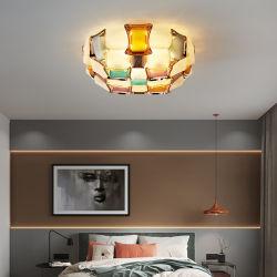 ティファニーライトベッドルーム照明、オレンジ色の LED バルコニー、シーリングランプ