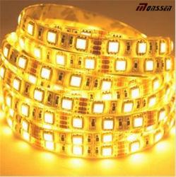 Hohe Kriteriumbezogene Anweisung LED 80 90 12V 24V 9.6W pro Streifen-Licht des Messinstrument-2500K 2700K Warmwhite SMD 2835 LED