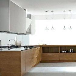 Estilo moderno mobiliário Foshan estilo simples de pintura de madeira Series Armários de cozinha