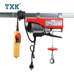 Elektrische Hijstoestel 100kg 300kg van de Kabel van de Draad van de Kruk van de Afstandsbediening van Txk het Elektrische