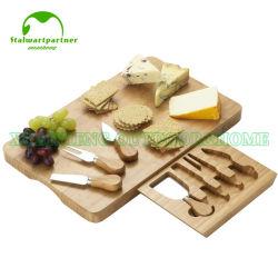 La madera de bambú picar tabla de cortar queso