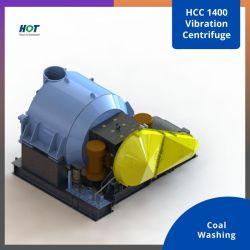 وحدة طرد مركزي HCC Coarse للفحم الخشن معالجة المعادن وحدة طرد مركزي صلبة لفاصل السوائل آلة الليمون