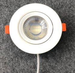 Indicatore luminoso 38d della peluria del punto del punto 3W 5W 7W 9W LED dell'indicatore luminoso di soffitto del punto del LED mini